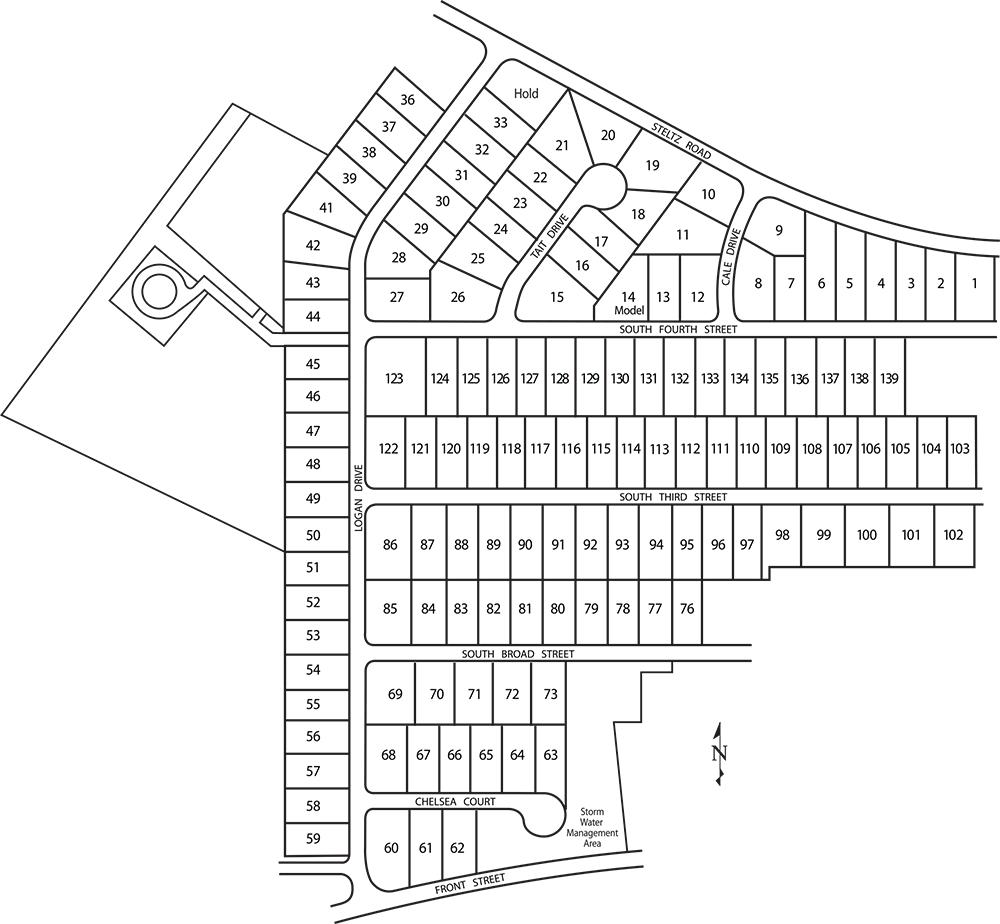 Koller Pointe Lot Map Background
