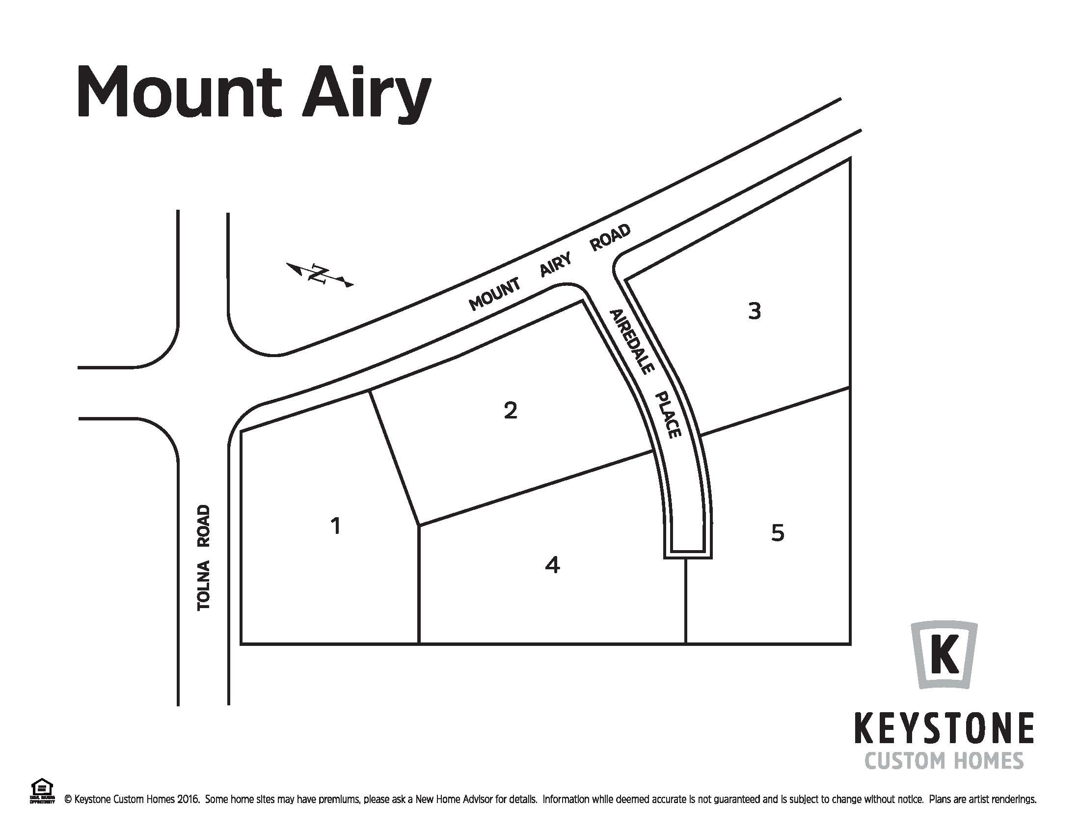 Mount Airy Lot Map Background