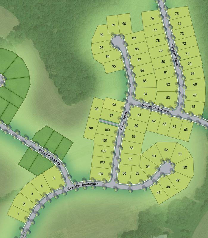 Eva Mar Farms Lot Map Background