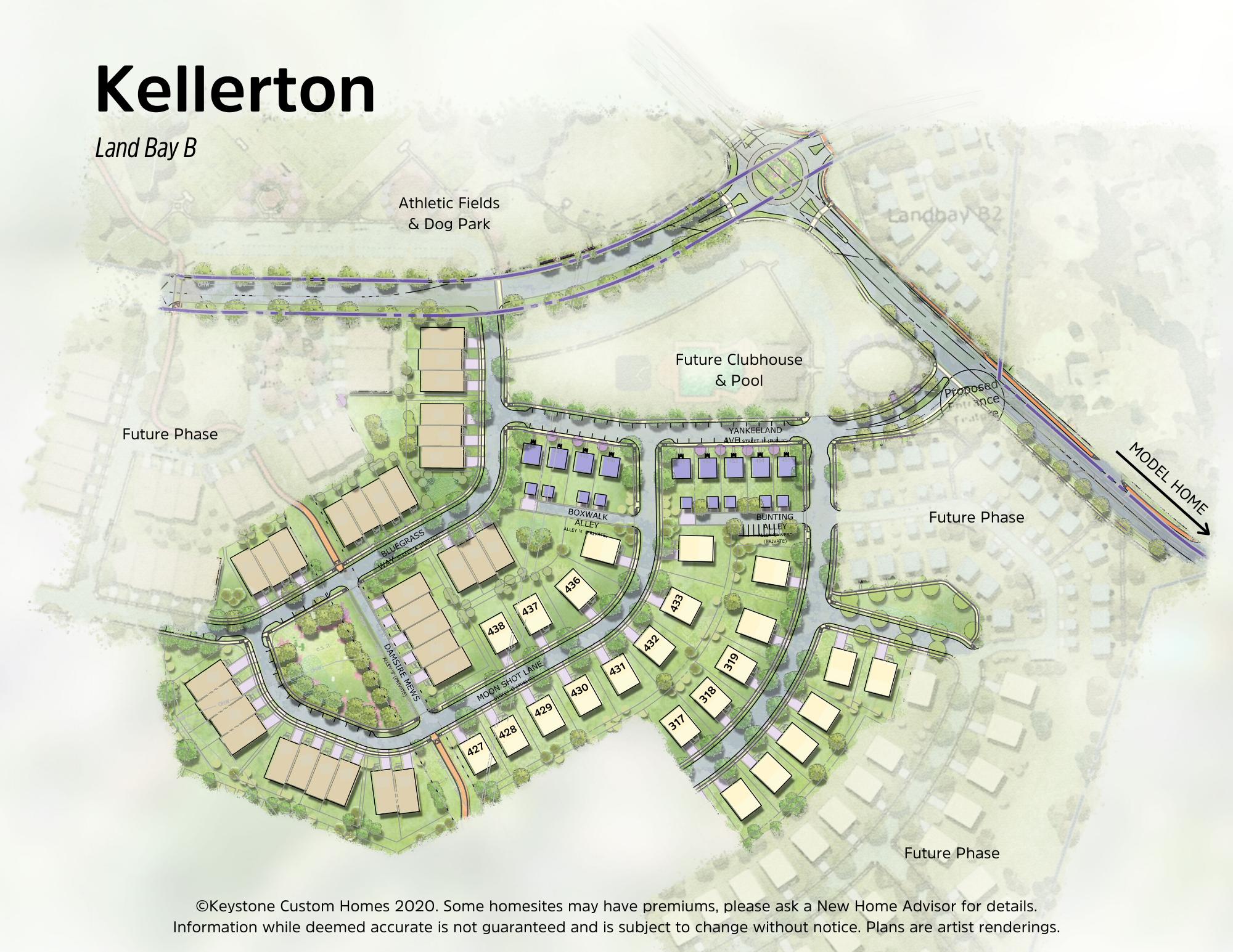 Kellerton Lot Map Background